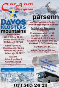 Davos Parsenn by CarAndi skiexpress