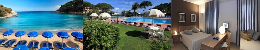 Hotel Désirée **** Procchio Elba Ferien