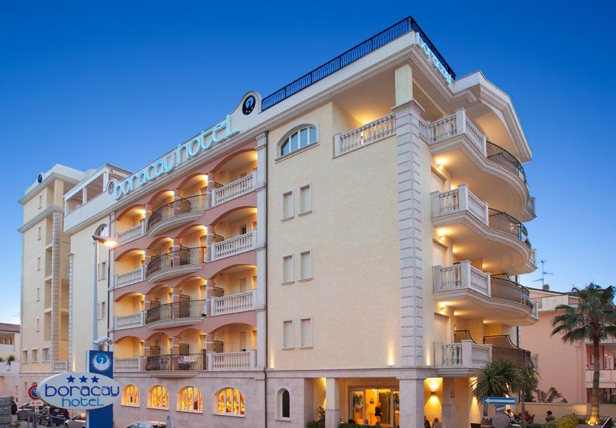 hotel boracay alba adriatica ferien