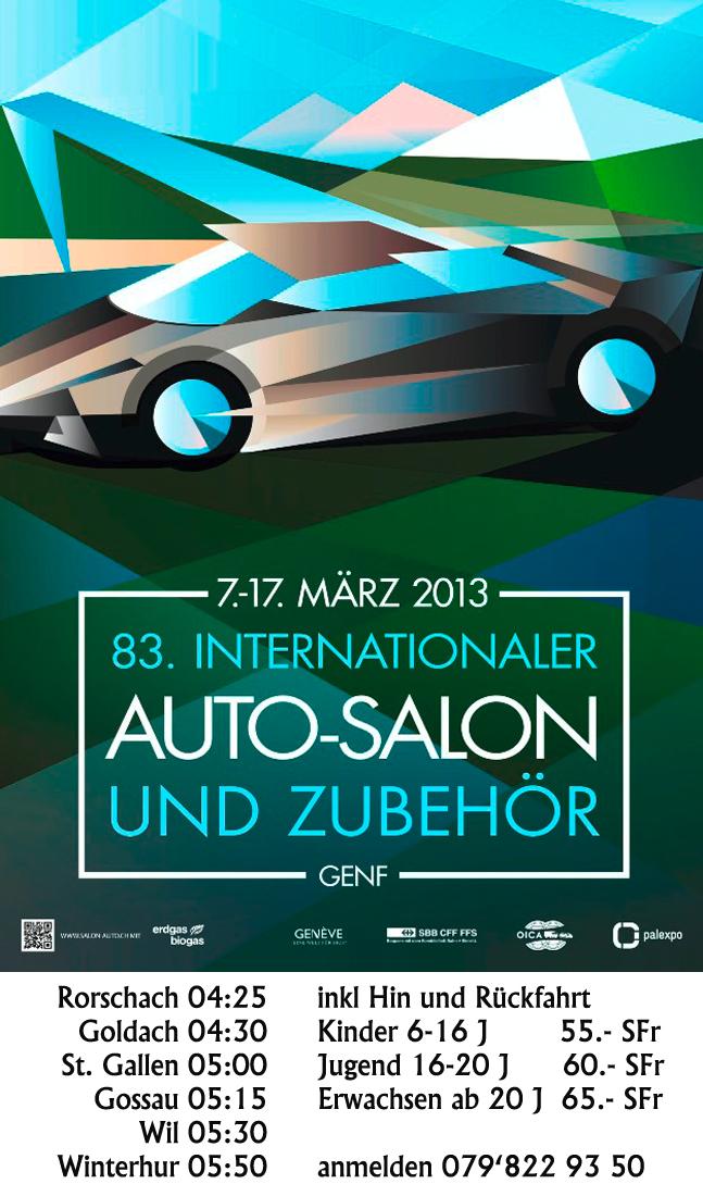 Auto Salon Geneve 2013 By Car Carandi